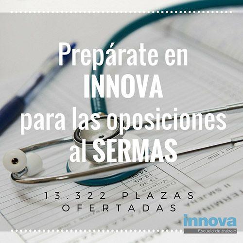 Oposiciones instituciones sanitarias 13.322 plazas en el SERMAS