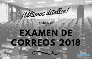 fecha examen correos 2018