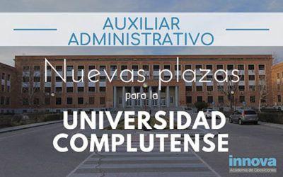 Nueva oferta de empleo público en la Universidad Complutense