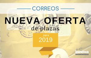 oferta de empleo en correos para 2019
