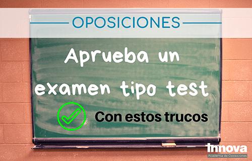 10 tips para hacer un examen tipo test