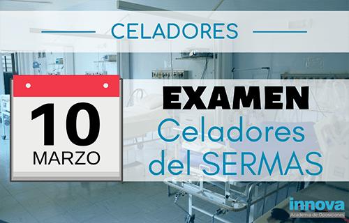 Publicada la fecha del examen para Celadores del SERMAS