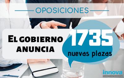 Más de 1.700 plazas como adelanto de la ope de 2019