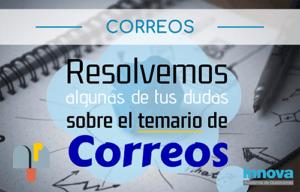 temario correos 2019