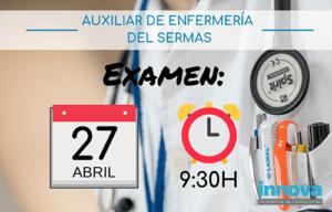 examen-auxiliar-enfermeria-sermas