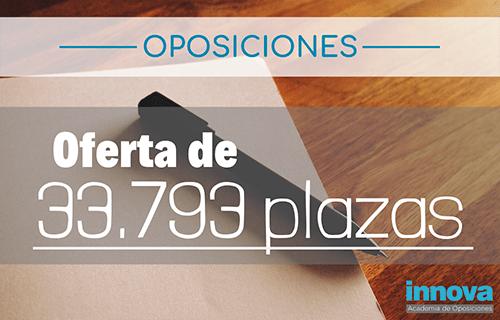 OPE 2019: Más de 30.000 plazas de Empleo Público ofertadas