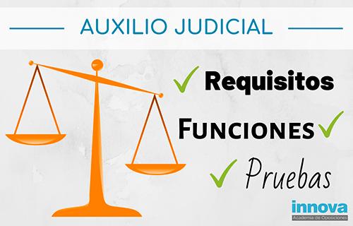 Auxilio Judicial, características principales de esta oposición