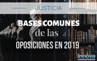 Publicadas las bases comunes que regirán las oposiciones de Justicia