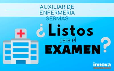 Consejos para el examen de Auxiliar de Enfermería del SERMAS