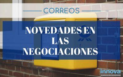 Nuevos cambios en las negociaciones con Correos