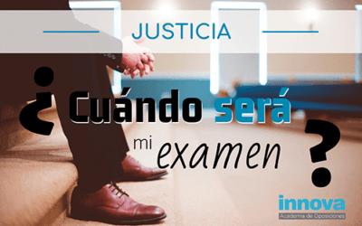 Posibles fechas para los exámenes de las oposiciones de Justicia