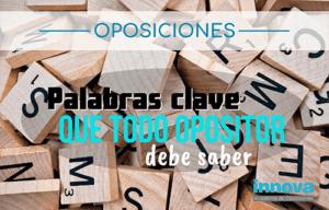 vocabulario oposiciones