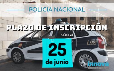 Convocadas las 2.506 plazas para la Escala Básica de Policía Nacional