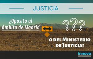 plazas oposiciones justicia