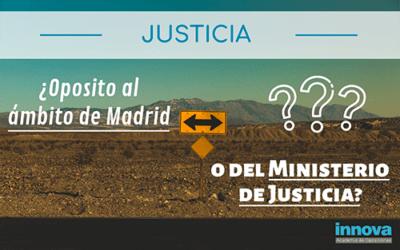 Resolvemos tus dudas sobre la distribución de las plazas de Justicia