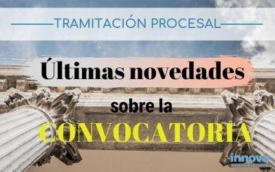 La convocatoria de Tramitación Procesal podría publicarse a final de mes, según los sindicatos