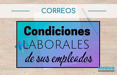 Correos trabaja en las mejoras de las condiciones laborales de sus empleados