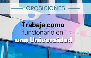 oposiciones universidad madrid