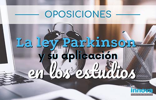 Aprende a administrar tu tiempo con la La ley de Parkinson