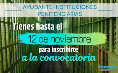 Convocadas 900 plazas de Ayudantes de Instituciones Penitenciarias