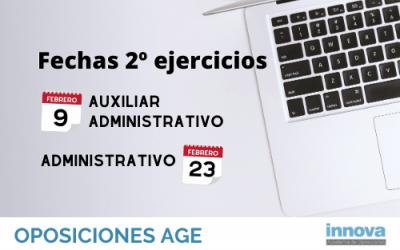 Publicada la lista de aprobados y la fecha del segundo ejercicio de los exámenes de la AGE