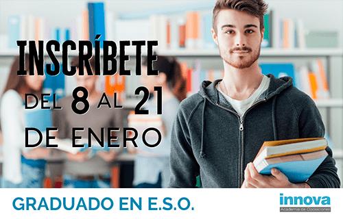 Mañana comienza el plazo de inscripción a las pruebas libres para obtener el título de la ESO