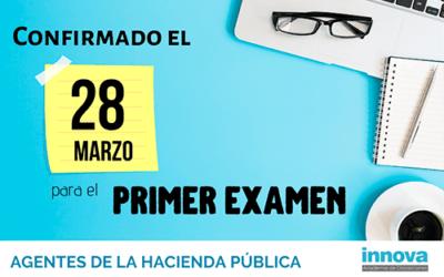 Publicada la lista provisional de admitidos para el examen de Agente de la Hacienda Pública