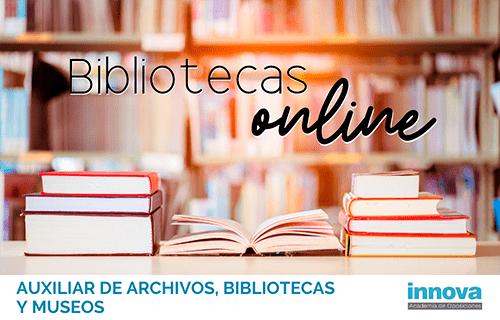 Bibliotecas virtuales para ampliar temario
