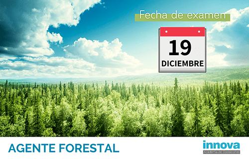 Publicadas la fecha de examen y las listas definitivas para conseguir una de las 50 plazas de Agente Forestal