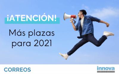 Publicada la nueva oferta de Correos con 3.254 nuevas plazas