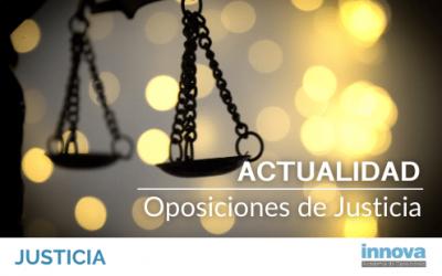 En qué estado se encuentran las oposiciones a la Administración de Justicia