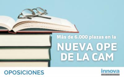 Publicada la Oferta de Empleo Público de la CAM con un total 6.159 plazas