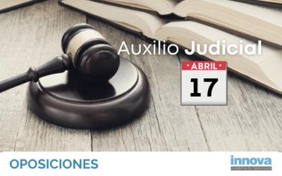 Fecha del examen de Auxilio Judicial