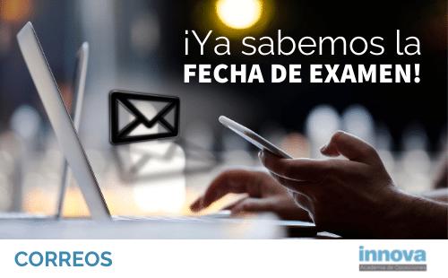 12 de septiembre: fecha del examen de Correos