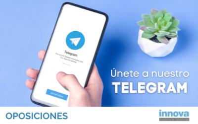 Forma parte de nuestro canal exclusivo de Telegram