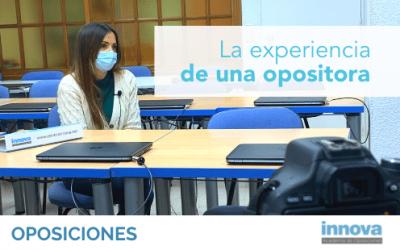 Noelia, alumna de Innova: la academia me transmite seguridad, confianza y cercanía