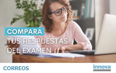 Ya puedes consultar las respuestas del examen de Correos del 12 de septiembre